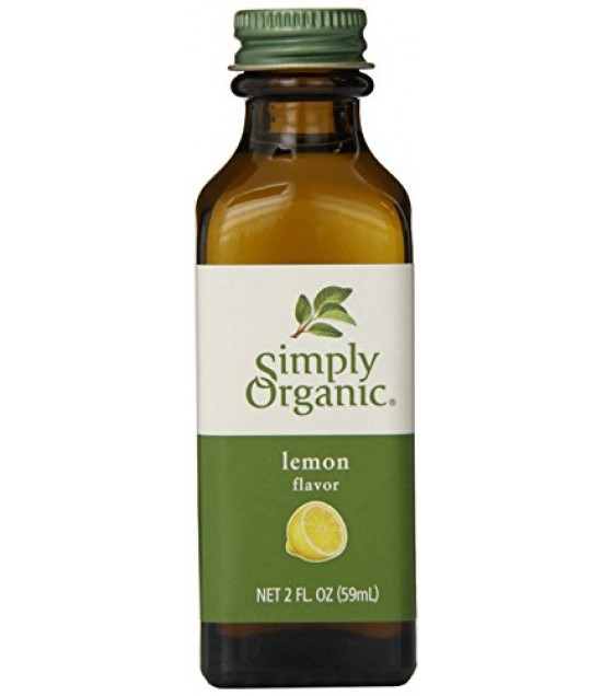 [Simply Organic] Flavors/Extracts Lemon Flavor  At least 95% Organic