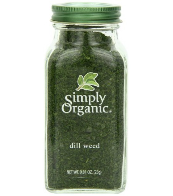 [Simply Organic] Spices Dill Weed  At least 95% Organic