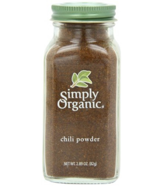 [Simply Organic] Spices Chili Powder  At least 95% Organic