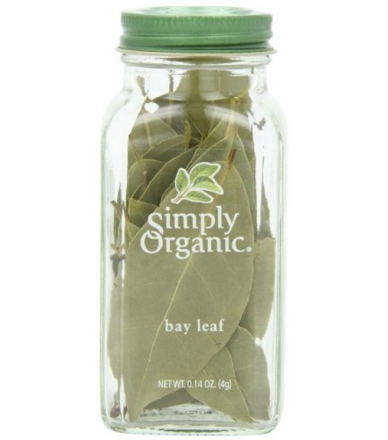 [Simply Organic] Spices Bay Leaf  At least 95% Organic