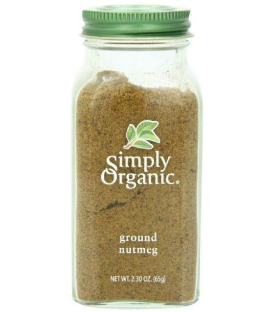 [Simply Organic] Spices Nutmeg, Ground  At least 95% Organic