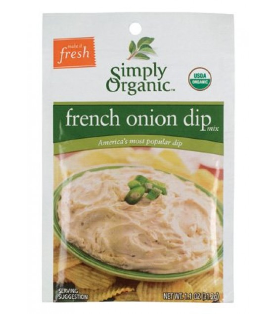 [Simply Organic] Dips French Onion  At least 95% Organic