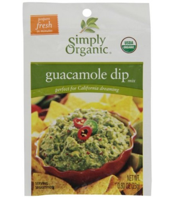 [Simply Organic] Dips Guacamole  At least 95% Organic