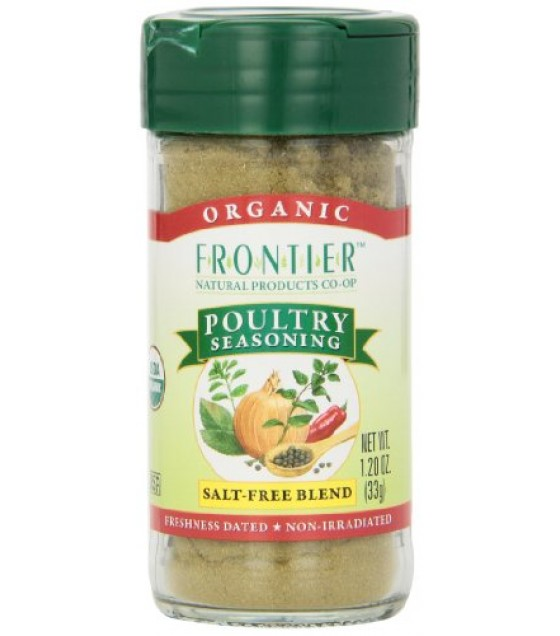 [Frontier Natural Products] Herbs & Spices Poultry Seasoning  At least 95% Organic