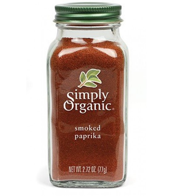 [Simply Organic]  Paprika, Smoked  At least 95% Organic