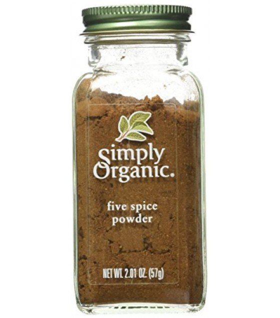 [Simply Organic]  Five Spice Powder  At least 95% Organic