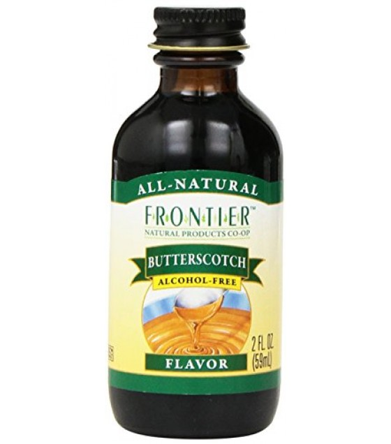 [Frontier Natural Products] Natural Flavors Butterscotch