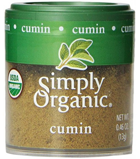 [Simply Organic] Spices Cumin, Ground  At least 95% Organic