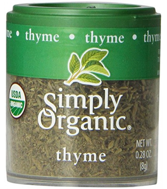 [Simply Organic] Spices Thyme Leaf  At least 95% Organic