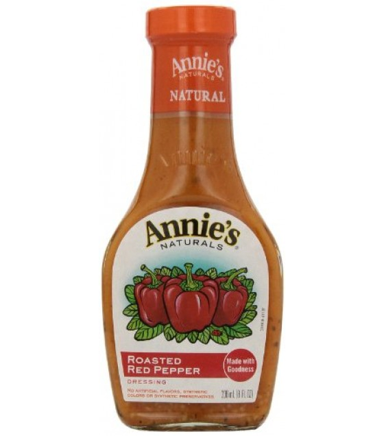 [Annie`S Naturals] Vinaigrettes Roasted Red Pepper