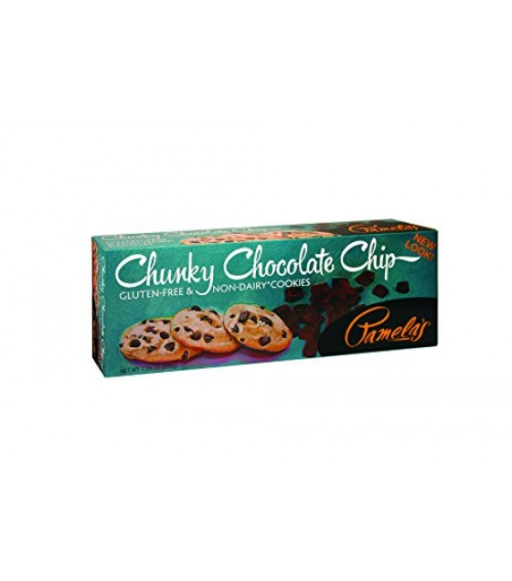 [Pamela`S Products] Wheat Free/Gluten Free Traditional Cookies Chunky Chocolate Chip