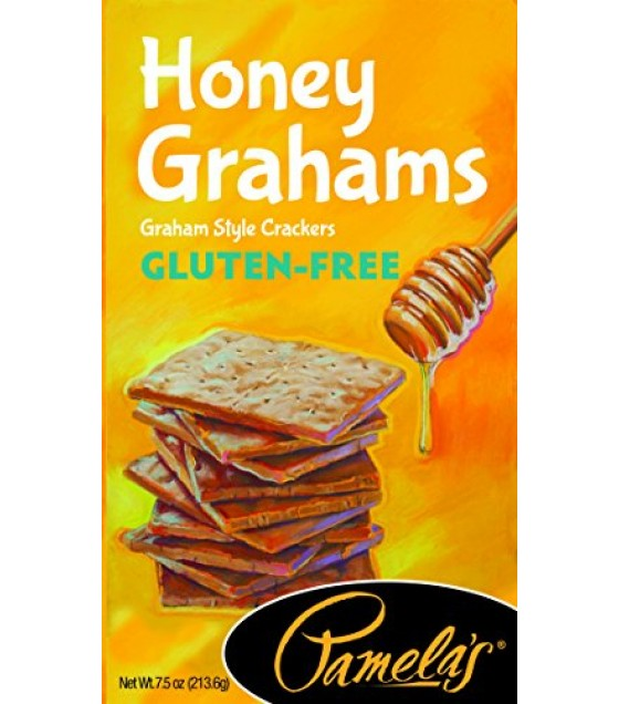 [Pamela`S Products] Graham Style Crackers-Gluten Free Honey