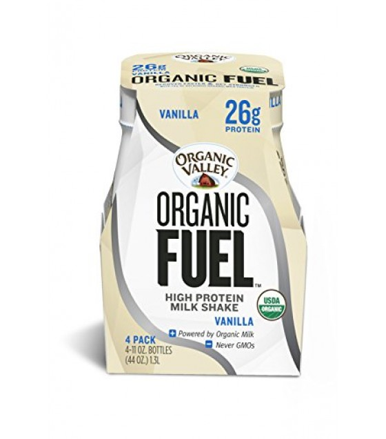 [Organic Valley] Organic Fuel Protein Shake Vanilla  At least 95% Organic