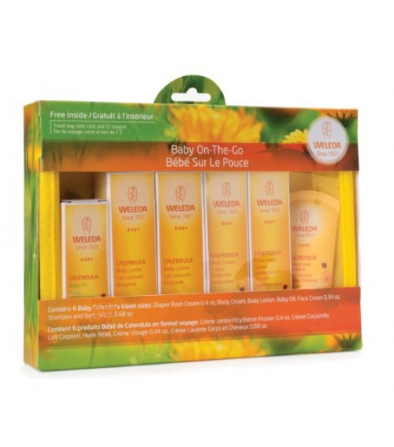 [Weleda Products] Baby Care Starter Kit