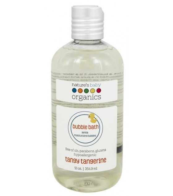 [Nature'S Baby Organics] BUBBLE BATH,TANGY TANGERN