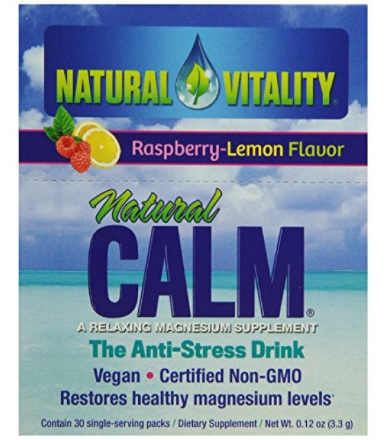 [Natural Vitality] Natural Calm Raspberry Lemon Packets