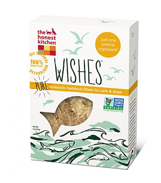 [Honest Kitchen] Treats For Dogs & Cats WISHES Haddock Fillets