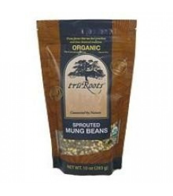 [Tru`Roots]  Mung Beans, Sprouted  100% Organic