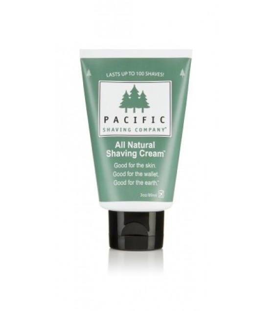 [Pacific Shaving Company]  Natural Shaving Cream