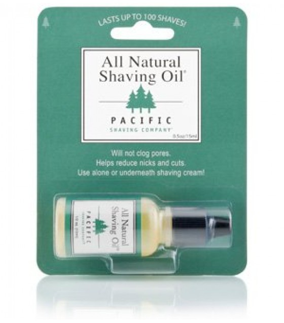 [Pacific Shaving Company]  Natural Shaving Oil