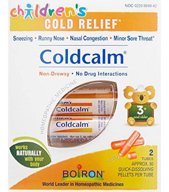 [Boiron] Children`s Products Coldcalm, children, Pellets/Tube