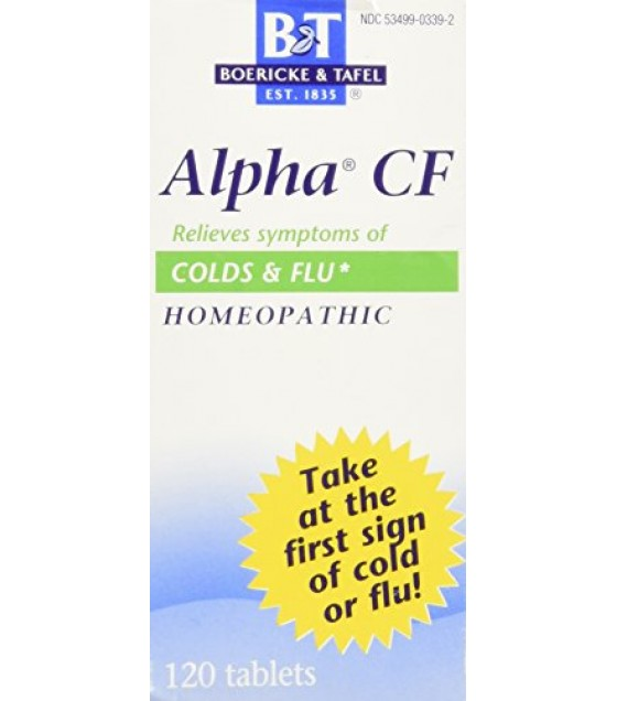 [Boericke & Tafel, Inc.] Cold & Flu Remedies Alpha CF Bonus Pack