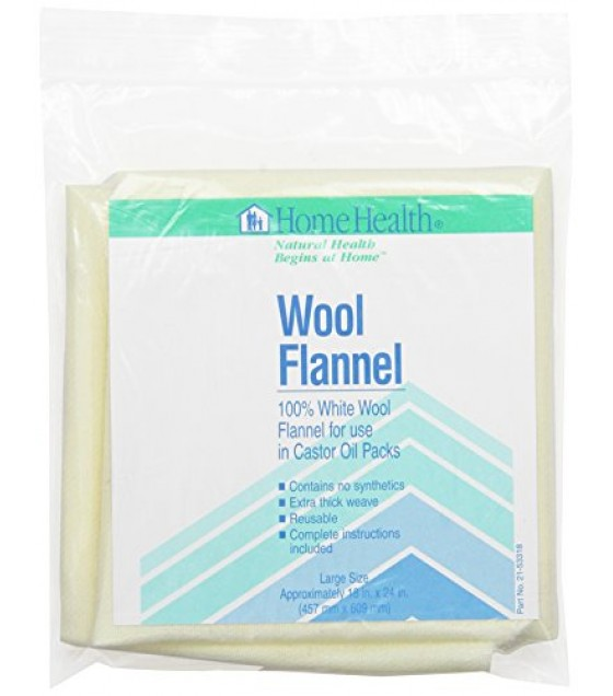 [Home Health] Health Care Products Wool Flannel, Large (18x24)