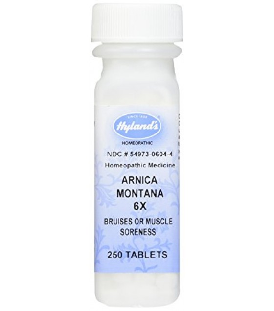 [Hylands Homeopathic Remedies] STANDARD - Single Remedies 6X Arnica Montana(Bruises&Muscle Soreness)