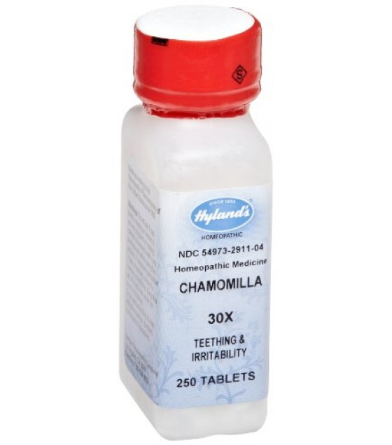 [Hylands Homeopathic Remedies] STANDARD - Single Remedies 30X Chamomilla (Sleeplessness & Irritability)