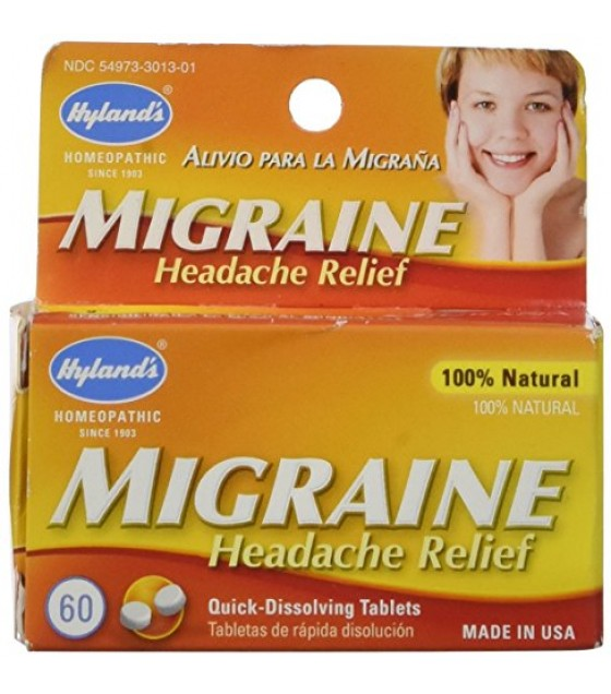 [Hylands Homeopathic Remedies] Popular Specialty Products Migraine Headache