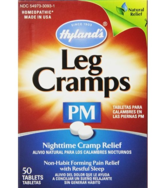 [Hylands Homeopathic Remedies] Pain Products Combinations Leg Cramps PM w/Quinine