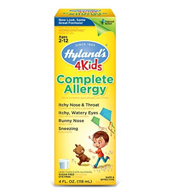 [Hylands Homeopathic Remedies] Remedies For Children Complete Allergy