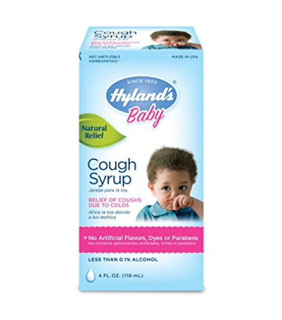 [Hylands Homeopathic Remedies] Remedies For Children Cough Syrup, Baby