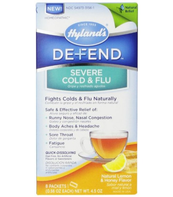 [Hylands Homeopathic Remedies] Cough & Cold Combinations Defend Severe Cold & Flu