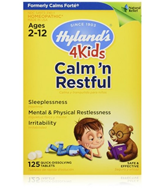 [Hylands Homeopathic Remedies] Remedies For Children Calm`n Restful 4 Kids
