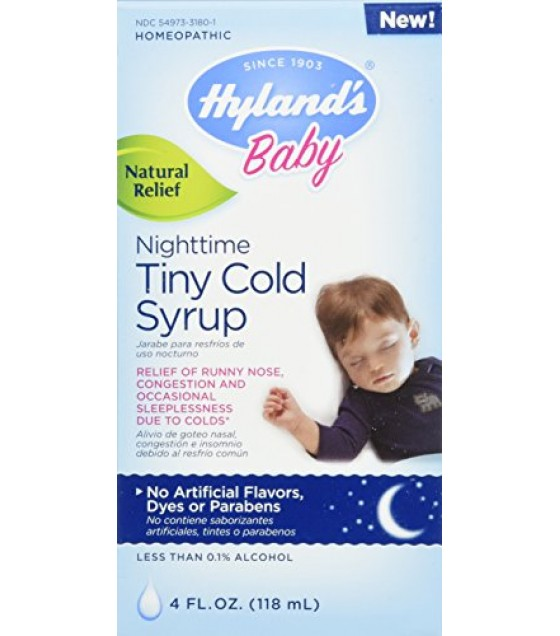 [Hylands Homeopathic Remedies]  Baby Night Time, Tiny Cough Syrp