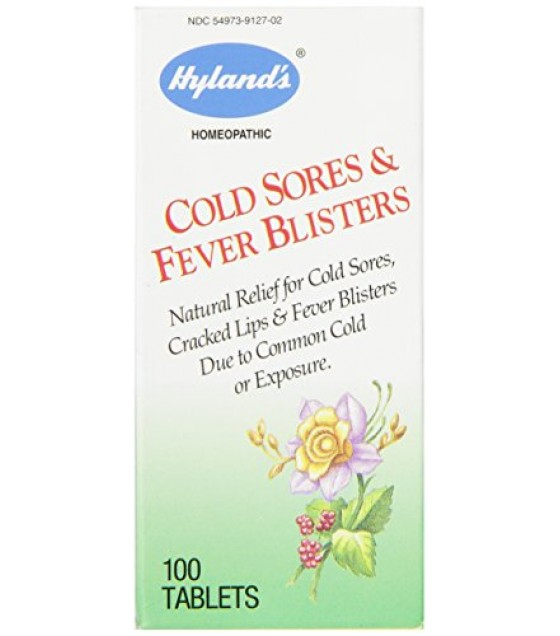 [Hylands Homeopathic Remedies] Over the Counter Combinations Cold Sores & Fever Blisters
