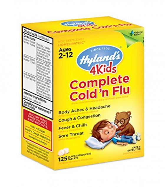 [hylands Homeopathic] 4kids Complete Cold & Flu