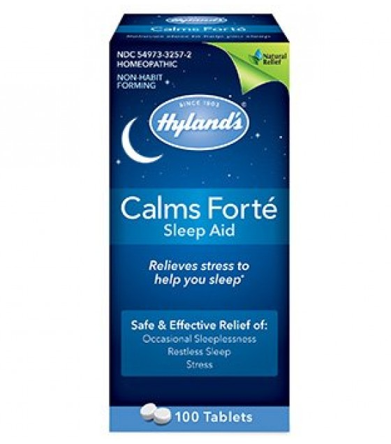 [hylands Homeopathic] Sleep Aid,calms Forte