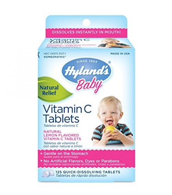 [Hylands Homeopathic Remedies] Remedies For Children Vitamin C 25 mg