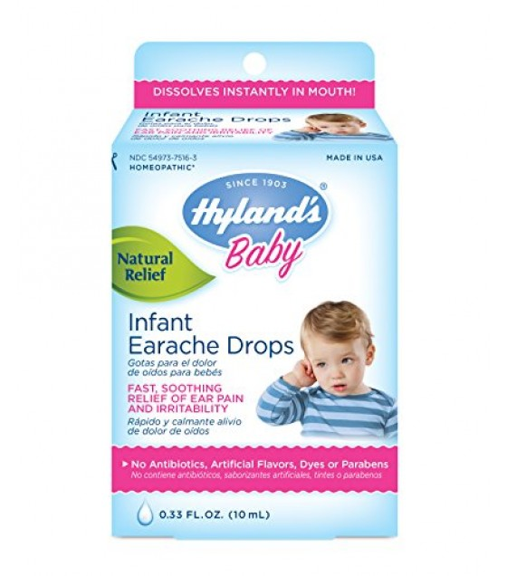 [Hylands Homeopathic Remedies] Remedies For Children Earache Drops, Children
