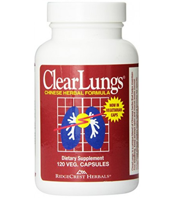 [Ridgecrest Herbals]  Clear Lungs w/o Ephedra