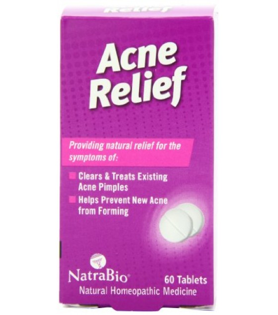 [Natra-Bio] Remedies, Tablets Acne Relief