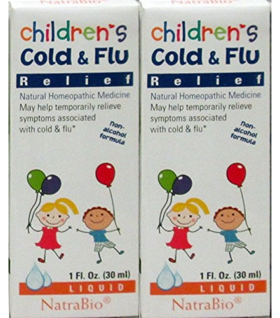 [Natra-Bio] Children`s Naturals Cold & Flu