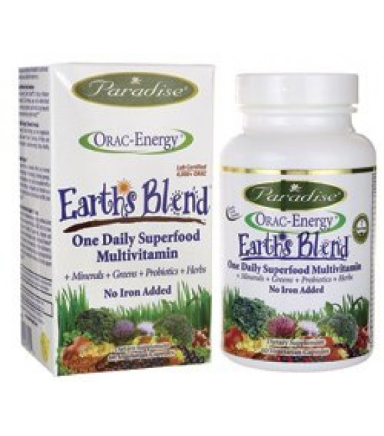 [Paradise Herbs] ORAC-ENERGY MULTI,NO IRON