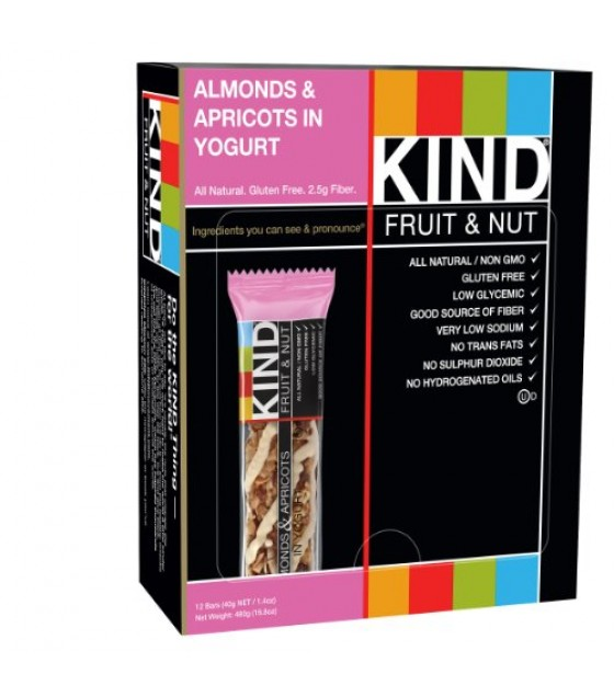 [Kind] Kind Fruit & Nut Bars Almond & Apricot In Yogurt