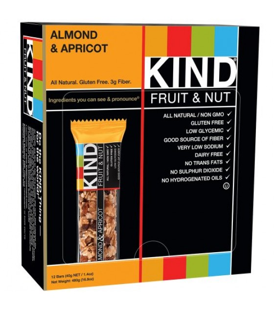 [Kind] Kind Fruit & Nut Bars Almond & Apricot