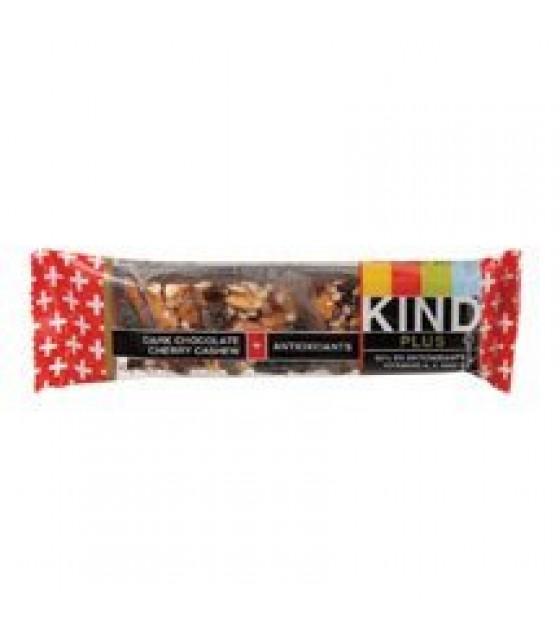 [Kind] Kind Plus Fruit & Nut Nutrition Bars Dk Chocolate Chry Cashew + Antiox