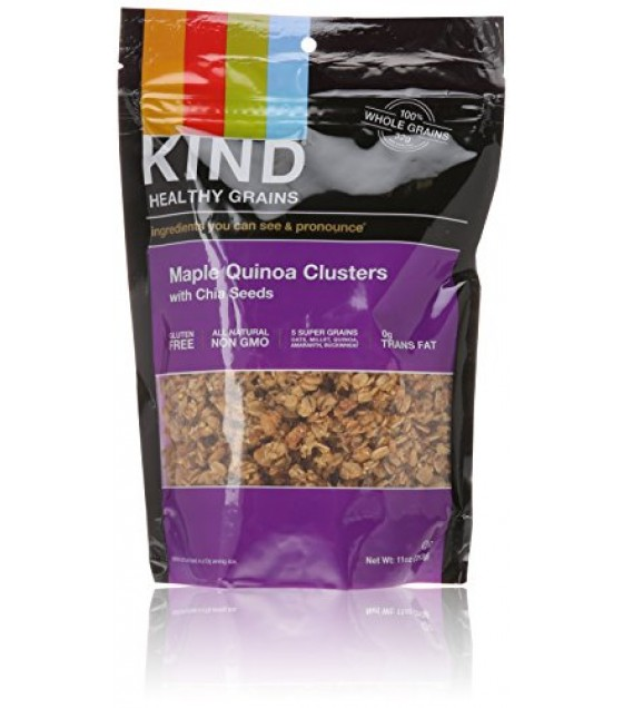 [Kind] Healthy Grains Maple Quinoa Cluster w/Chia