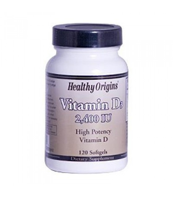 [Healthy Origins] VITAMIN D3 GELS,2400IU